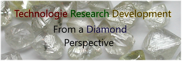Technology Research Development from a Diamond perpective