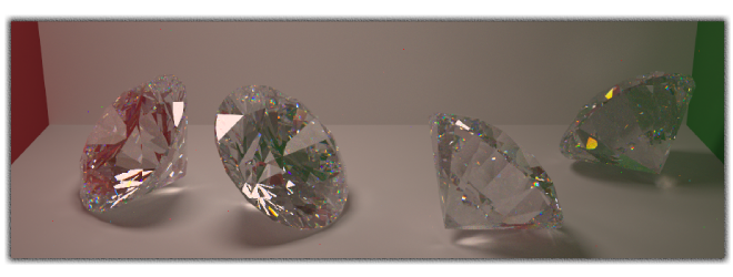 Ray tracing example